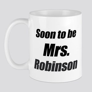 soon to be mrs. Robinson Mug