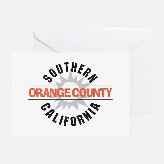Orange County California Greeting Card