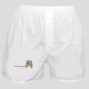 Bulldog Bite for Dog lovers Boxer Shorts