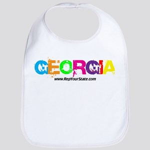 Colorful Georgia Bib