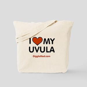 Uvula Love Tote Bag