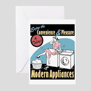 Convenience & Pleasure of Modern Appliances Greeti