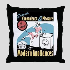 Convenience & Pleasure of Modern Appliances Throw