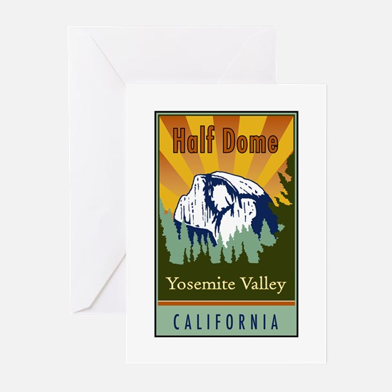 Half Dome Greeting Cards (Pk of 20)