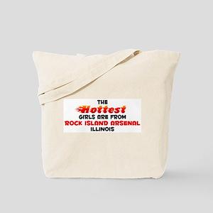 Hot Girls: Rock Island , IL Tote Bag