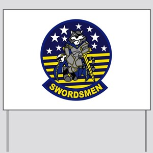 VF-32 Swordsmen Yard Sign