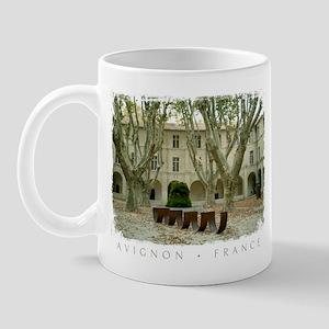 Avignon Courtyard Mug
