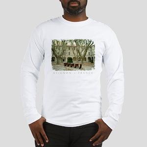 Avignon Courtyard Long Sleeve T-Shirt