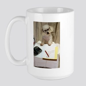 I Love My Bichon Frise Large Mug