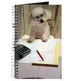 Bichon frise Journals & Spiral Notebooks