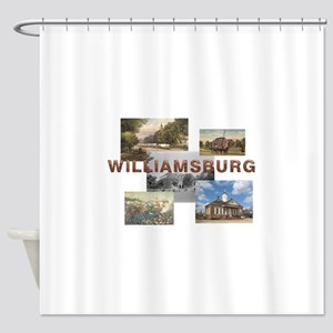ABH Williamsburg Shower Curtain