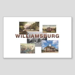ABH Williamsburg Sticker (Rectangle)