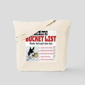 Dog's Bucket List Tote Bag