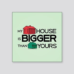 """Monopoly - My House Is Bigg Square Sticker 3"""" x 3"""""""