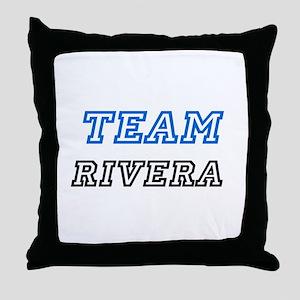 Team Rivera Throw Pillow