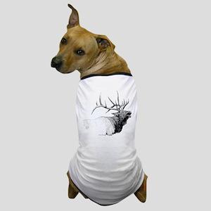 Bull Elk Dog T-Shirt