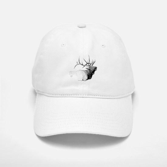 Bull Elk Baseball Baseball Cap
