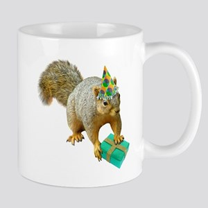 Birthday Squirrel Stainless Steel Travel Mugs