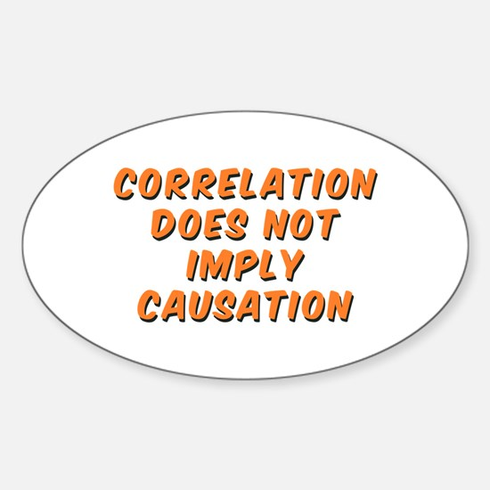Correlation Does Not Imply Causation Decal