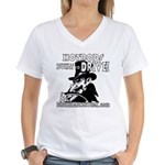 BUILT to DRIVE Women's V-Neck T-Shirt