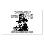 BUILT to DRIVE Rectangle Sticker