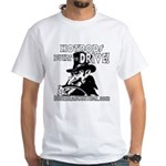 BUILT to DRIVE White T-Shirt