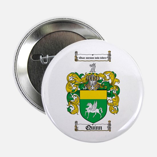 "Quinn Family Crest 2.25"" Button (100 pack)"
