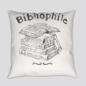 Bibliophile Everyday Pillow