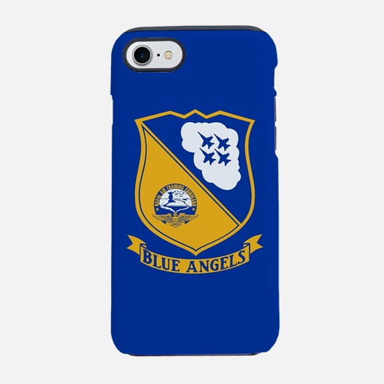 U.S. Navy Blue Angels Crest iPhone 8/7 Tough Case