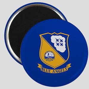 U.S. Navy Blue Angels Crest Magnet