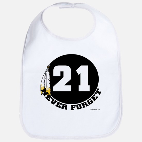 21 NEVER FORGET (FEATHER) Bib