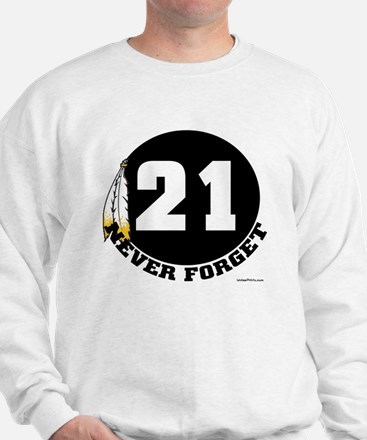 21 NEVER FORGET (FEATHER) Sweatshirt
