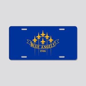 Blue Angels Fighter Planes Aluminum License Plate