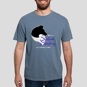 He's My Bi-Black Sheltie Women's Dark T-Shirt