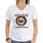 GEAR HEAD Women's V-Neck T-Shirt