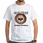 GEAR HEAD White T-Shirt