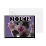 MOUSE! Greeting Cards (Pk of 10)