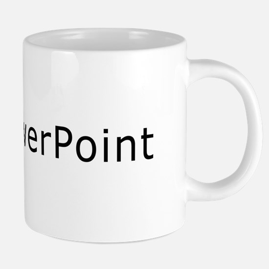 i_love_powerpoint copy Mugs