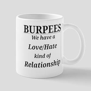 Burpees Love/Hate Mugs