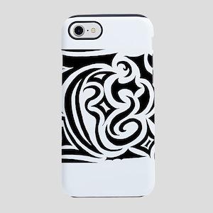 Black Sketch iPhone 8/7 Tough Case