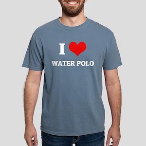I Love water Polo Black T-Shirt