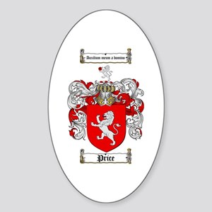 Price Coat of Arms Oval Sticker