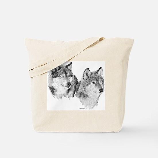 Lone Wolves Tote Bag
