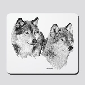 Lone Wolves Mousepad