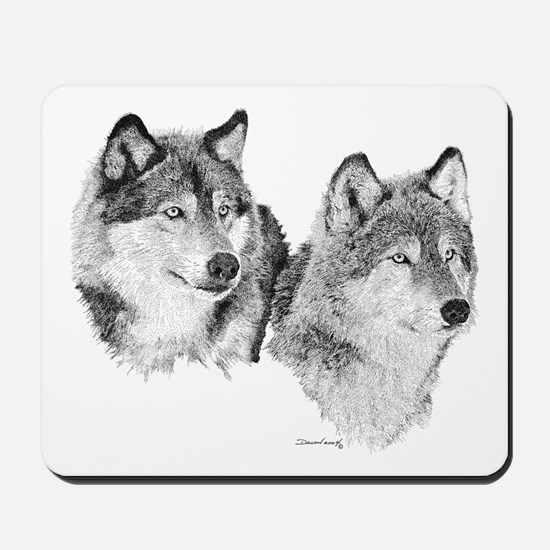 Lone Wolves Mousepad