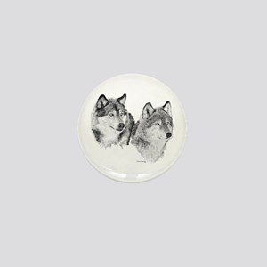 Lone Wolves Mini Button