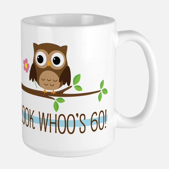 Look Whoo's 60 Owl Birthday Mugs