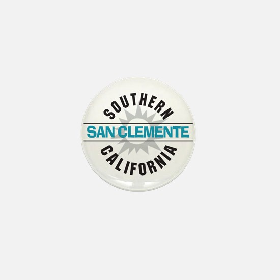 San Clemente California Mini Button