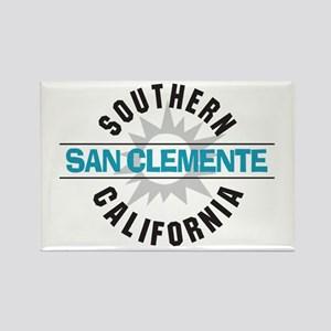 San Clemente California Rectangle Magnet