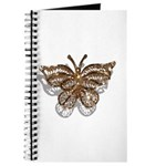 Gold Butterfly Journal